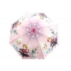 Детский виниловый зонтик с героями мультфильмов (для девочек)
