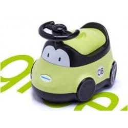 Детский горшок-машинка (зеленый)