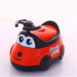 Детский горшок-машинка (красный)