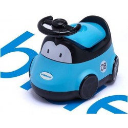 Детский горшок-машинка (голубой)