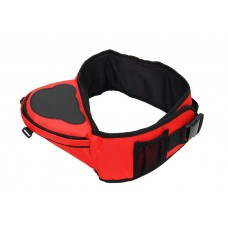 Многофункциональный хипсит со спинкой для переноски детей Hip Seat (Красный)