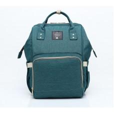 Сумка-рюкзак для мамы Mummy Bag (Темно-зеленый)