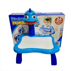 Детский проектор для рисования со столиком PROJECTOR PAINTING (синий)