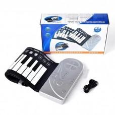 Гибкое пианино синтезатор Soft Keyboard Piano (49 клавишей)