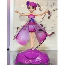 Оригинальная летающая фея Flying Fairy с подсветкой и музыкой, цвет фиолетовый