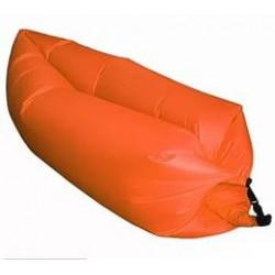 Надувной лежак Ламзак оранжевый