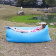 Надувной лежак Ламзак голубой