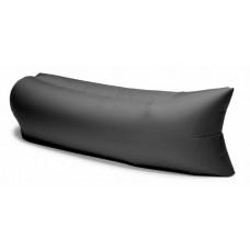 Надувной лежак Ламзак черный