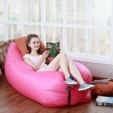 Надувной лежак Ламзак розовый