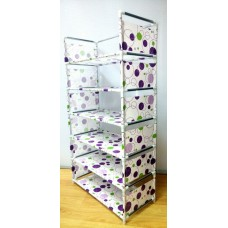 Стойка для обуви 6 полок MEIYIHAN SHOE RACK (белый)