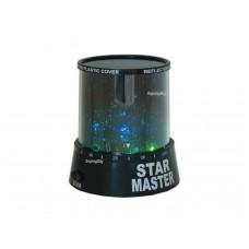 Ночник проектор звездного неба Star Master (Стар Мастер) (черный)