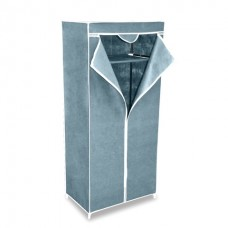 Складной каркасный тканевый шкаф QUALITY WARDROBE (СЕРЫЙ)