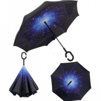 Зонт наоборот UpBrella КОСМОС