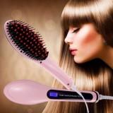 Расческа выпрямитель Fast Hair Straightener (розовая)