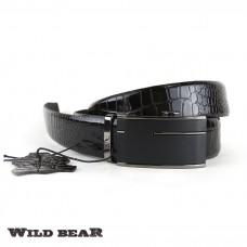Ремень WILD BEAR RM-025m Brown (в кожаном чехле)