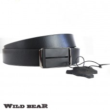 Ремень WILD BEAR RM-026f Black Premium (в деревянном футляре)