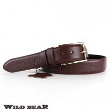 Ремень WILD BEAR RM-031m Vinous (в кожаном чехле)