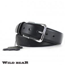 Ремень WILD BEAR RM-032f Black Premium (в деревянном футляре)