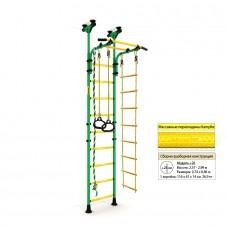 Шведская стенка Kampfer Strong kid Ceiling (зеленый/желтый Высота +26 см)