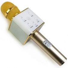 Беспроводной караоке микрофон Tuxun Q7 (золото)
