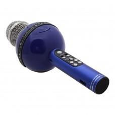 Беспроводной караоке микрофон WS-878(синий)