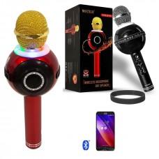 Беспроводной караоке микрофон WS-878(красный)
