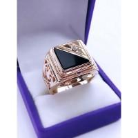 Мужское кольцо МК034 (Размер 19)