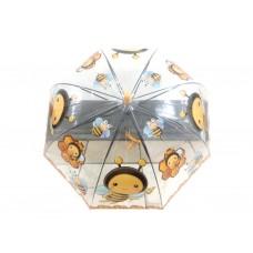Детский виниловый зонтик ПРОЗРАЧНЫЙ